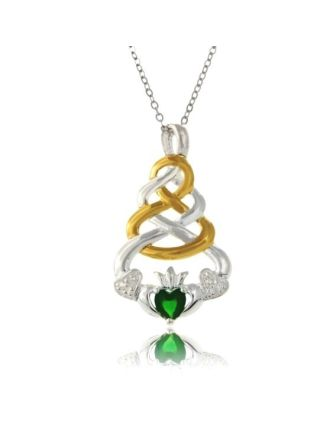 Claddagh Knot Jewelry   Claddagh Knot Pendant